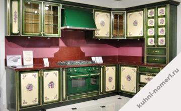 Кухни с росписью на фасадах