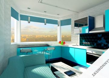 Кухня 1336 фото