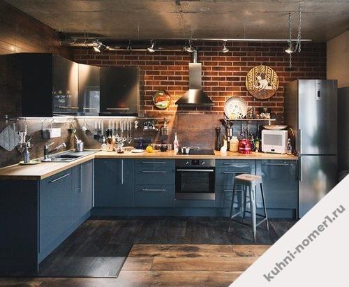 Кухня 907 фото
