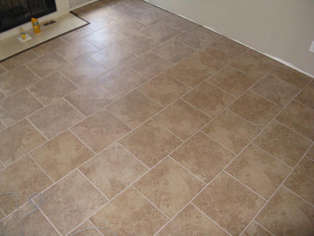 керамическая плитка на пол кухни