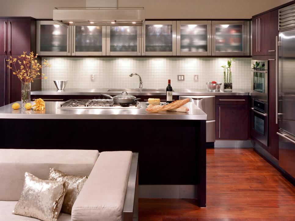 кухни с подсветкой рабочей зоны под шкафы фото