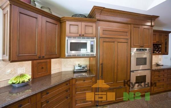 кухни из массива дерева от производителя фото