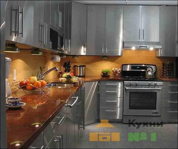 кухни из пластика фото