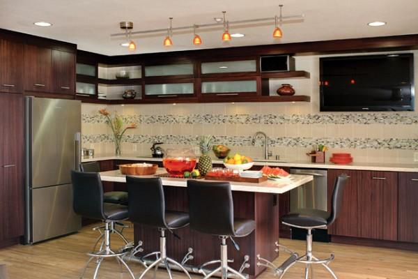 кухни из ЛДСП фото