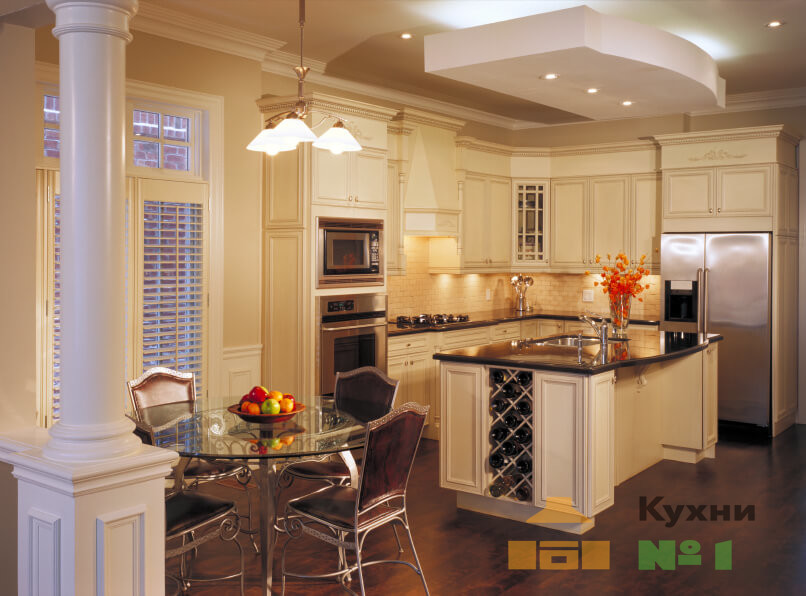 светлые кухни фото