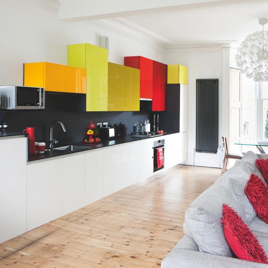 цветовые решения для кухни фото