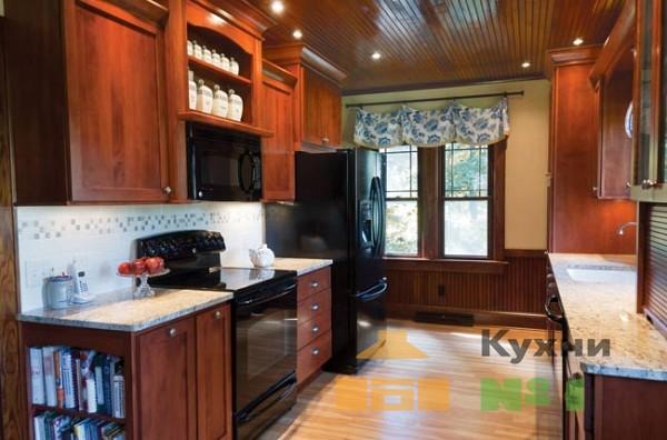двухрядные кухни фото