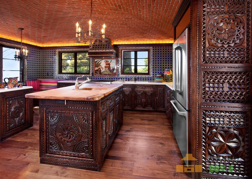 колониальные кухни фото