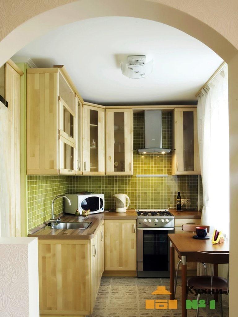 кухни 1,5 на 1,5 м на заказ фото