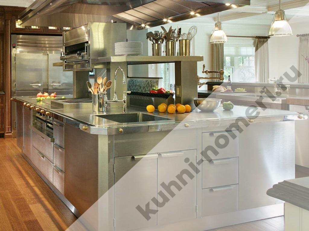 кухни металлик фото