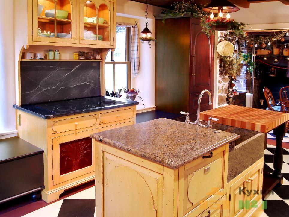 кухни с островом фото