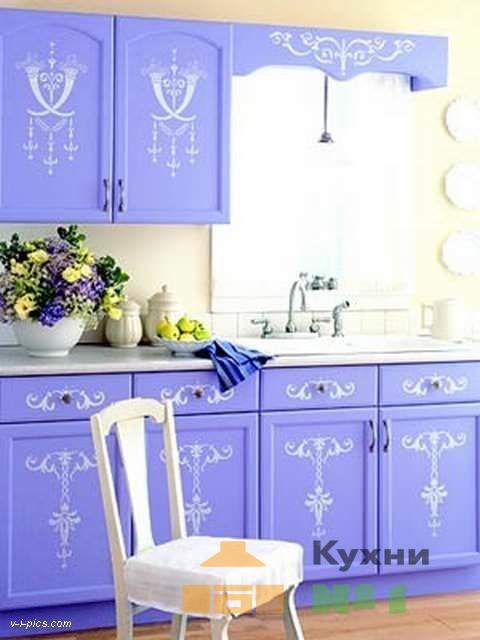 кухни с росписью на фасадах фото