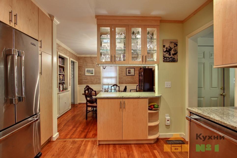 кухни со светодиодной лентой фото