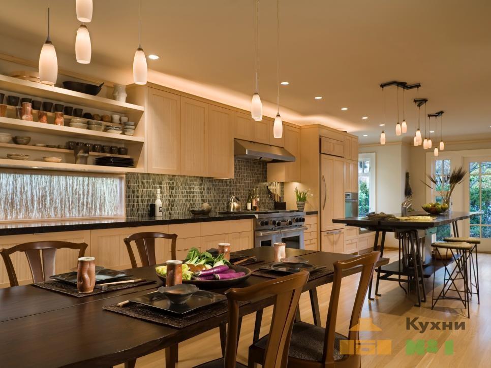 однорядные кухни фото