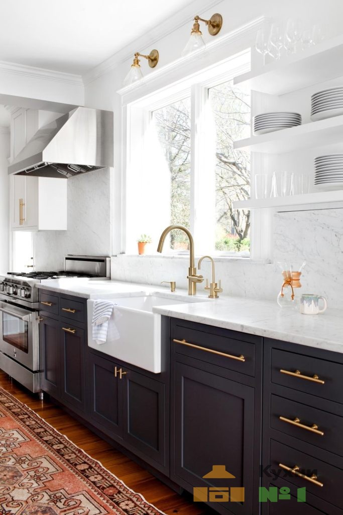 прямые кухни фото