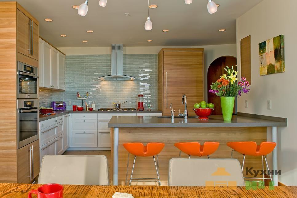 цвет кухни фото