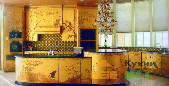 золотые кухни фото